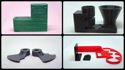 3D gedruckte Bauteile für einen Farb-Sortierer