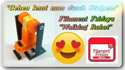 Walking Robot Video