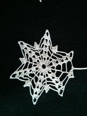 Snowflake Christmas Present