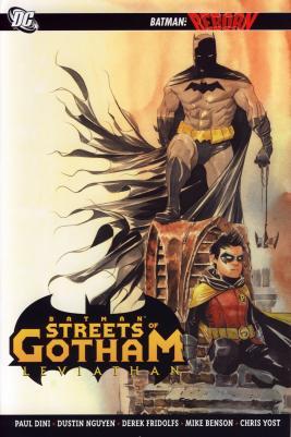Cover von Batman: Streets of Gotham: Leviathan