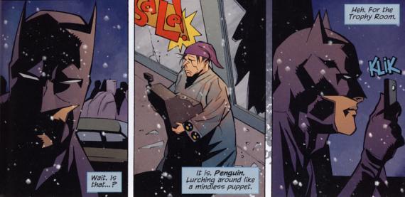 Bruce Wayne ist zurück als Batman. Und er kennt kein Erbarmen.