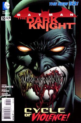 Cover von Batman: The Dark Knight #10