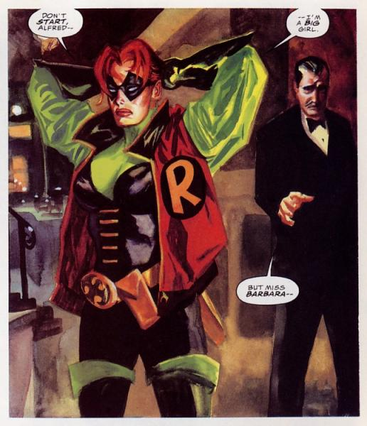 Batgirl? Robin? Robingirl??