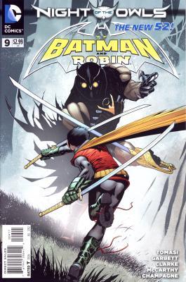 Cover von Batman & Robin #9