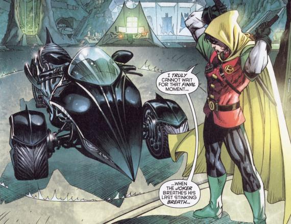 Ladies and Gentlemen - Mister Damian Wayne