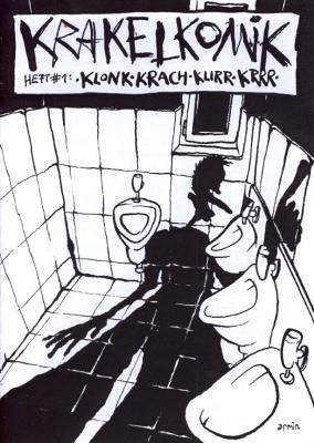 Cover von Krakelkomik #1: Klonk Krach Klirr Krrr