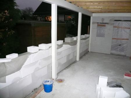 15.11.: Wir sind fertig und unsere Ausmauerarbeiten auch!!