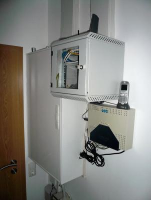 Anordnung der Haustechnik im HWR