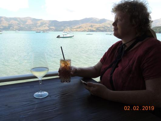 Harbar in Akaroa 1