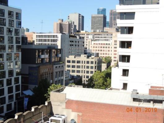 Melbourne bei 41 Grad C