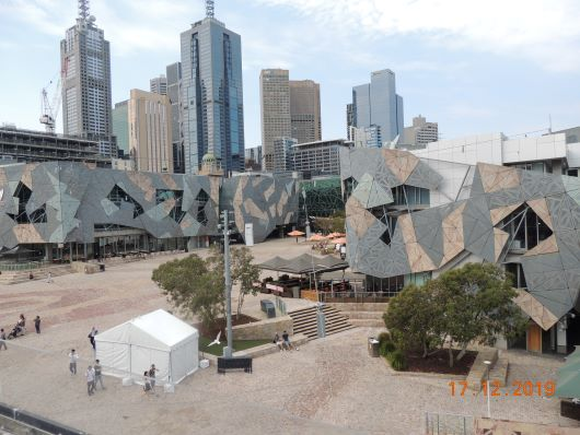 Fed Square von Top Deck