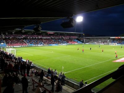The very nice stadion in aalborg