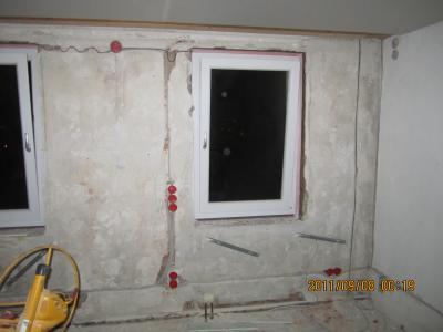 HesErnst - Unser Bautagebuch: OG-Schlafzimmer: Elektroinstallation ...