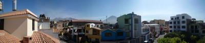 View from my balcony of my room @ the spanish school in Arequipa