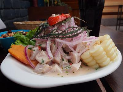 Ceviche in Cusco
