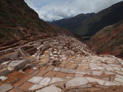 Apparently there are over 3000 salt terraces here.