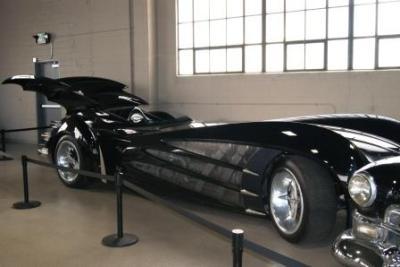 """Das Batmobil aus """"Batman begins"""""""