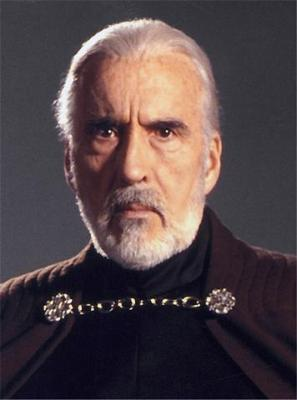 Count Dooku aka Darth Tyranus