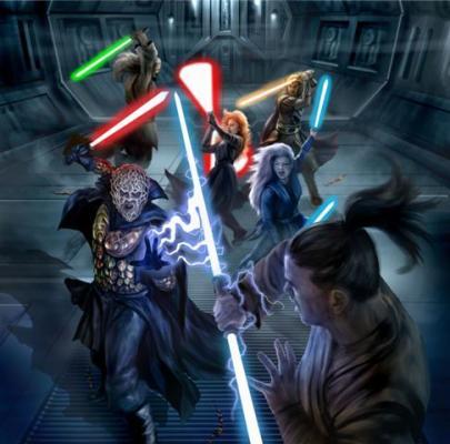 Bane und Zannah auf Tython vs. Jedi