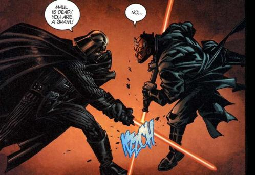Darth Maul (Klon) vs. Darth Vader