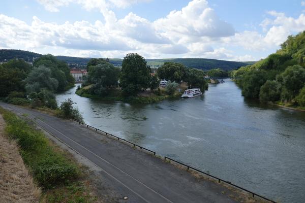 Werra und Fulda fließen zusamen.