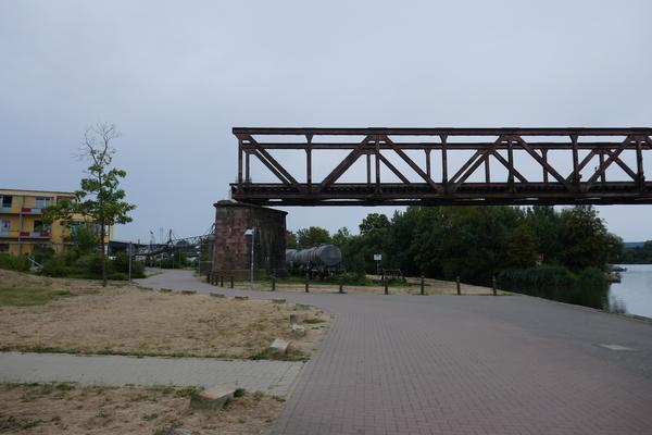 Hameln Eisenbahnbrückenreste