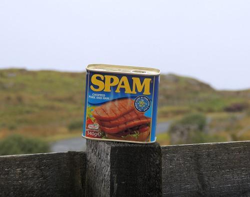 Spam - schmeckt wie es heißt...