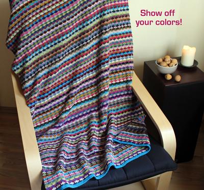 Häkeldecke, crochet blanket