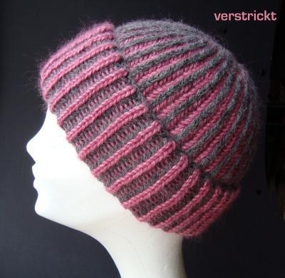 Mütze Im Patentmuster Stricken Fab Hairdesign