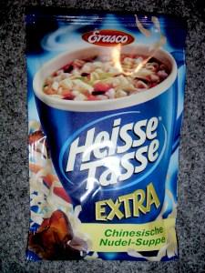 Erasco Heisse Tasse Extra Chinesische Nudel-Suppe