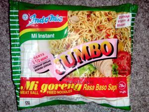 Indomie Mie Jumbo - Goreng Rasa Baso Sapi