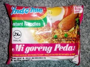 Indomie Mi Goreng Pedas - Hot Fried Noodles