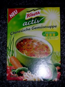 Knorr Active - Chinesische Gem?sesuppe