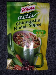 Knorr Activ - Chinesische Nudel-Suppe