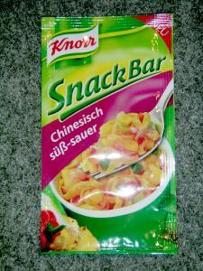 Knorr Snack Bar - Chinesisch Suess Sauer