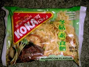 Koka - Mushroom Flavour - Mi Chay Dong Co