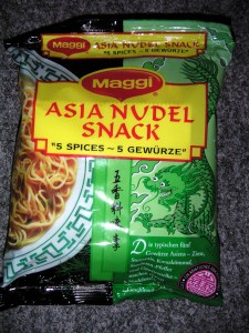 """Asia Nudel Snack """"5 Spices"""""""