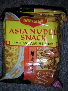 "Asia Nudel Snack ""Ayam Huhn"""