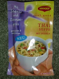 Maggi Feel Good Thai Suppe mit Nudeln