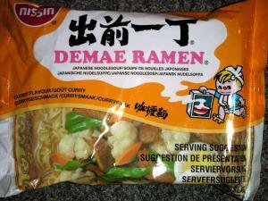 Nissin Demae Ramen - Curry Flavour