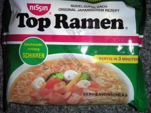 Nissin Top Ramen Schinken