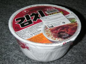 Nong Shim Kimchi Bowl