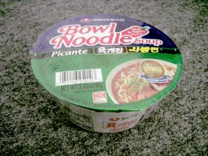 Nong Shim - Bowl Noodle Soup - Picante Hot & Spicy Flavor
