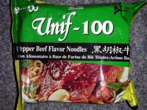 President Unif 100 - Black Pepper Beef Flavor Noodles