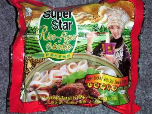 Super Star Rice-Flour Noodle - Beef Cooked with Soy Sauce Flavour