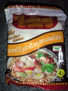 Wai Wai Shrimps oder Huhn ;-)