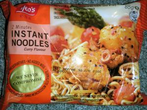 Yeo's 2 Minutes Instant Noodles Curry Flavour