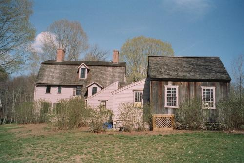 The Old Manse Emerson and Hawthorne lived in
