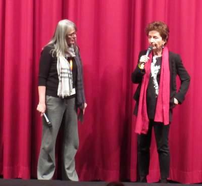 Ruth Beckermann beim Q&A