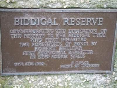 Erinnerung an Biddigal<br />